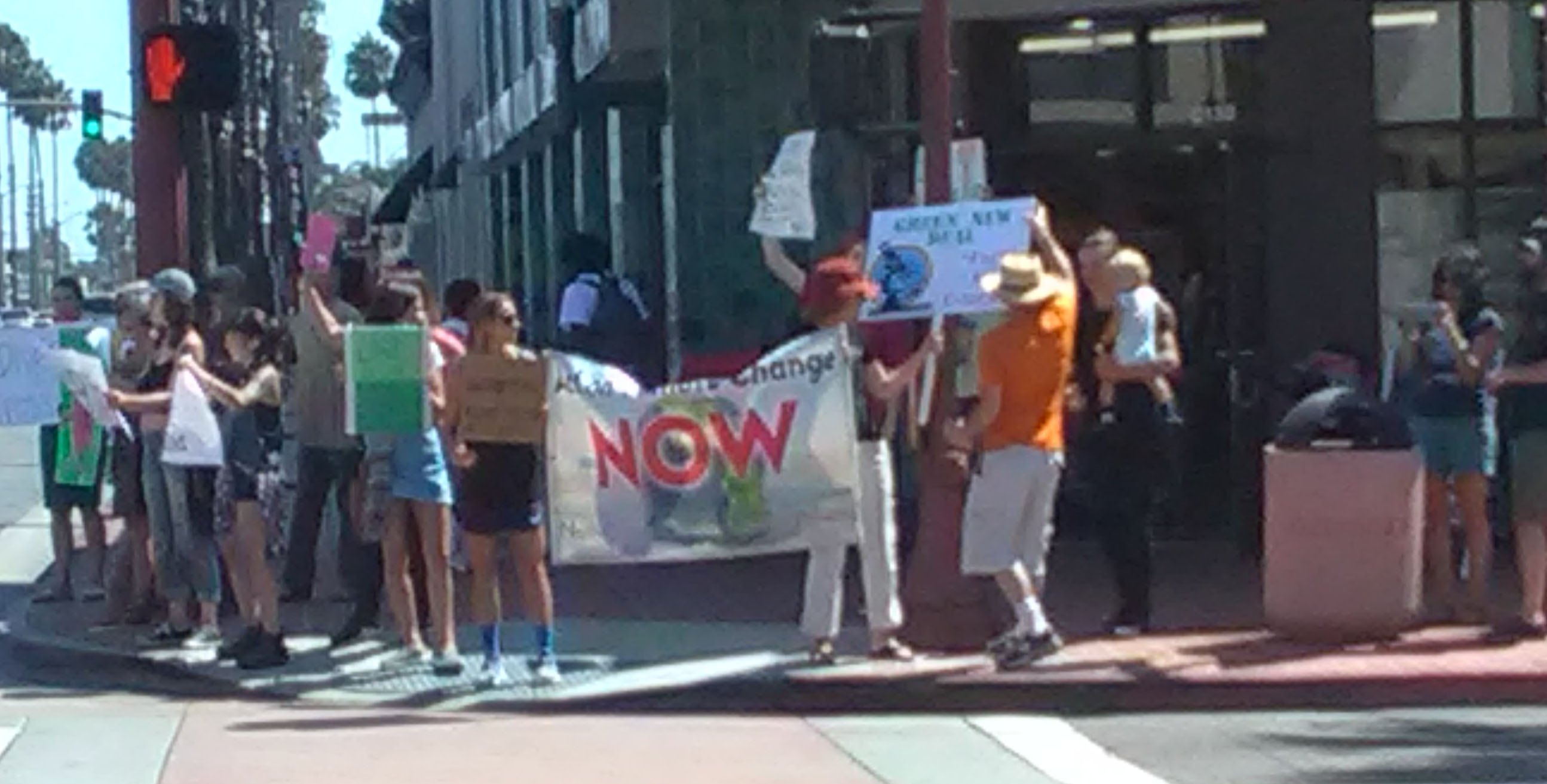Climate Change Demonstrators